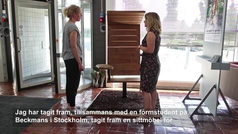 Thumbnail for entry Examensutställning industridesign våren 2018