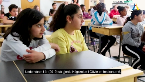 Thumbnail for entry Forskarturné - Få besök av en forskare från Högskolan i Gävle