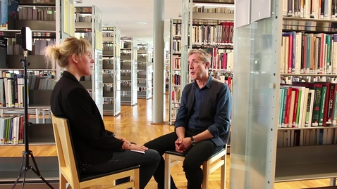 Thumbnail for entry Gunnar Bergström inför Forskarna på slottet oktober 2018
