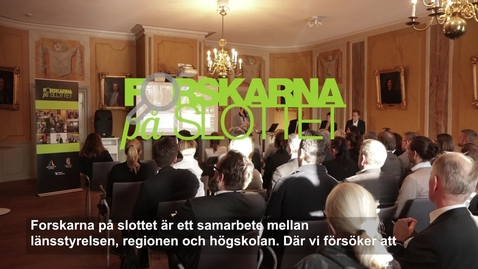 Thumbnail for entry Intervjuer med värdarna Forskarna på slottet 180327