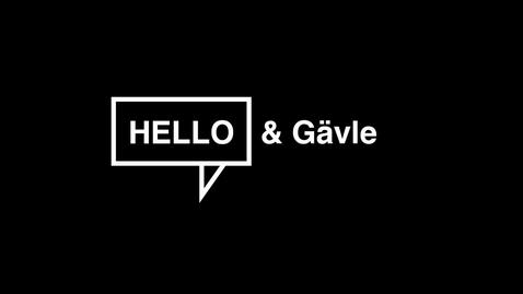 Thumbnail for entry Gävle har mycket att erbjuda