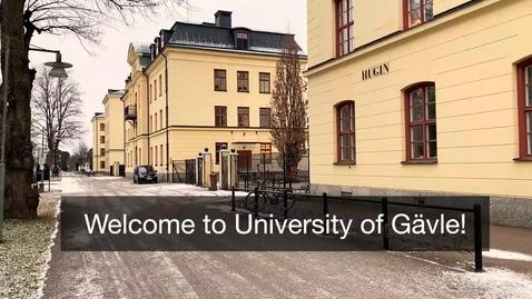 Thumbnail for entry Ylva Fältholm välkomsthälsning vårterminen 2021 engelska