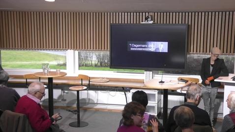 """Thumbnail for entry Seminarieserien """"Hur skapar vi en hållbar demokrati?"""" Del 5"""