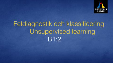 Thumbnail for entry Feldiagnostik och klassificering - Modul B1:2