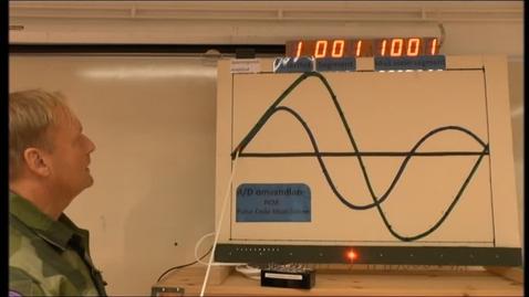Miniatyr för inlägg Lab-förevisning inom Telekommunikation. Del  2 av 2.