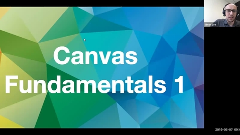 Miniatyr för inlägg Canvas Fundamentals Traing Part I