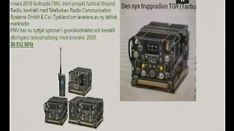 Miniatyr för inlägg Telekommunikation  Komm.system del 2  B    Satkom  (och det sista på  radio) 29 minuter