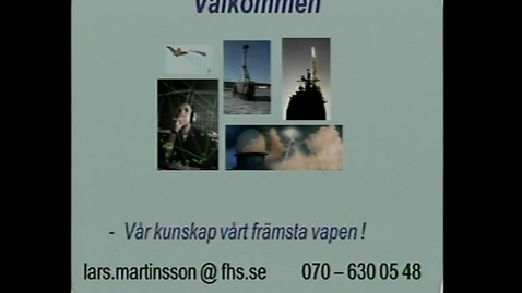 Miniatyr för inlägg Våglängd-Frekvenslära, Föreläsning.   Lars Martinsson