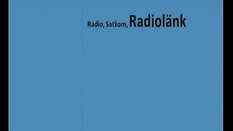 Miniatyr för inlägg Telekommunikation  Komm.system del 3 Radiolänk