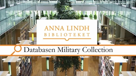 Miniatyr för inlägg Databasen Military Collection