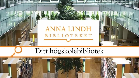 Miniatyr för inlägg Ditt högskolebibliotek