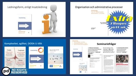 Miniatyr för inlägg Introduktion till utbildningspaketet Ledningsform