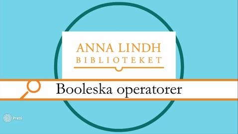 Miniatyr för inlägg Booleska operatorer