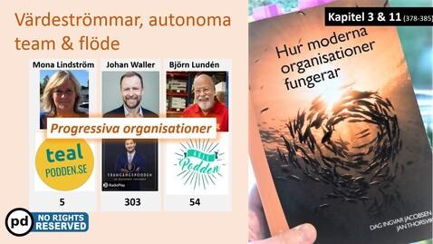 Miniatyr för inlägg Hur moderna organisationer fungerar: Del 2 - Värdeströmmar, autonoma team & flöde