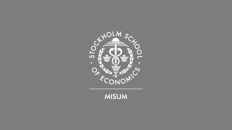Thumbnail for entry MISUM Forum 2020: COVID Crisis - Increasing inequalities and decreasing investments?