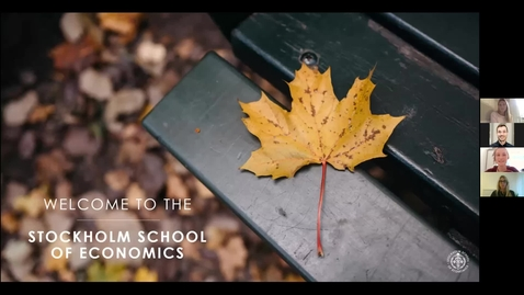 Thumbnail for entry Webinar: MSc in Economics + MSc in Accounting, Valuation & Financial Management