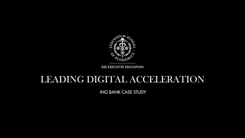 Thumbnail for entry ING Bank Case Study