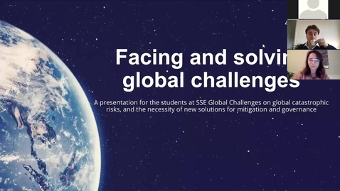 Thumbnail for entry Global Challenges Annual Report Meeting