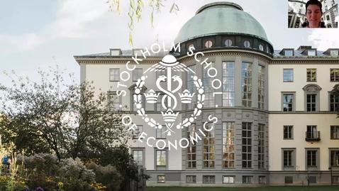 Thumbnail for entry Presentation av Handels och våra kandidatprogram