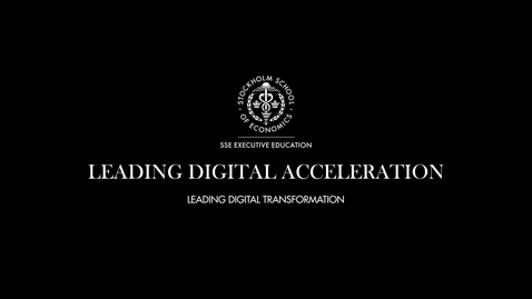 Thumbnail for entry Leading Digital Transformation