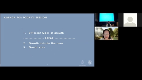 Thumbnail for entry Course 8064 - Session 4 - Growth Modes
