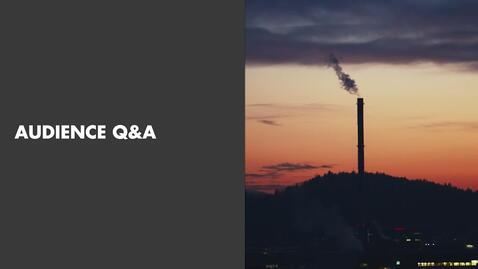 Thumbnail for entry Misum Webinar | Bending the global emissions curve  - Audience Q&A
