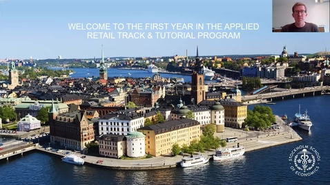 Thumbnail for entry Applied Retail Track Kickoff info Y1 students