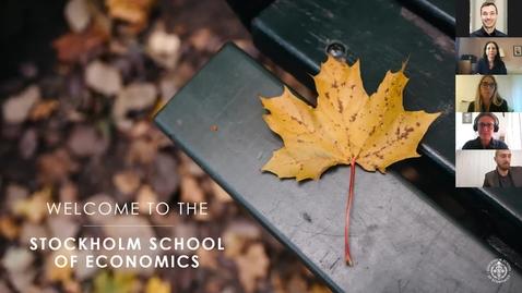 Thumbnail for entry Webinar: MSc Program in Business & Management + MSc Program in International Business
