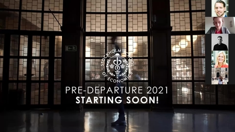 Thumbnail for entry Newly Admitted BSc Students: Virtual Pre-Departure Event + Q&A (April 29)