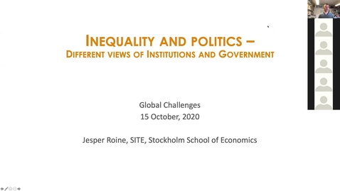 Thumbnail for entry BE801 Inequality and Politics