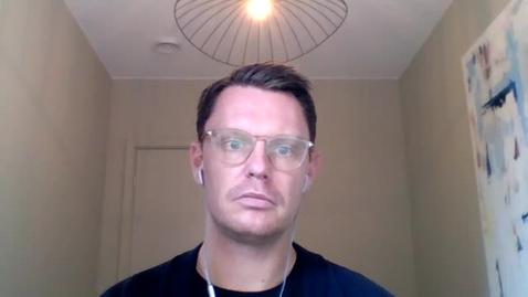 Thumbnail for entry Konversation med David Sandström