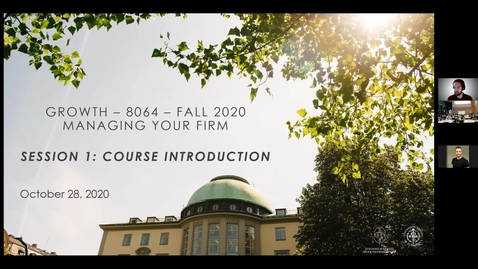 Thumbnail for entry Course 8064 - Session 1 - Course Introduction