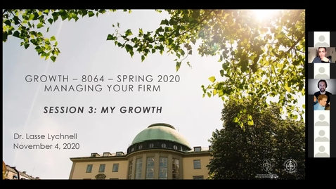 Thumbnail for entry Course 8064 - Session 3 - My Growth