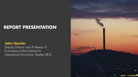Thumbnail for entry Misum Webinar | Bending the global emissions curve - John Hassler presentation
