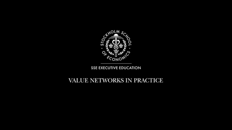 Thumbnail for entry Value networks in practice