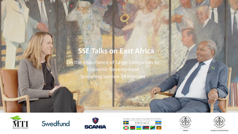Thumbnail for entry SSE Talks on East Africa - Screening version