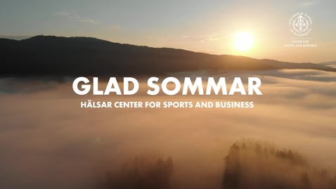 Thumbnail for entry Sommarhälsning 2020