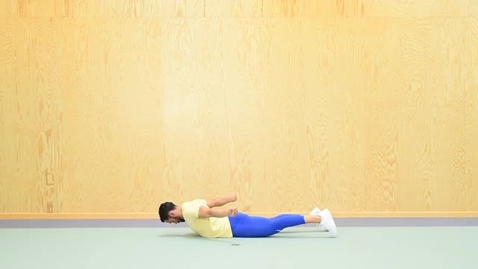 Thumbnail for entry KI Prone cobra exercise