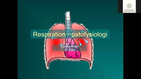 Thumbnail for entry Respiration Annika Hedin