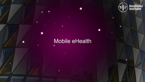 Thumbnail for entry eHealth Mobile Health