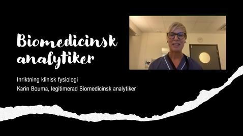 Thumbnail for entry Inspirationsföreläsning Biomedicinsk analytiker inriktning klinisk fysiologi