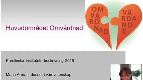 Thumbnail for entry Huvudområdet Omvårdnad KI 2016 (med undertext)