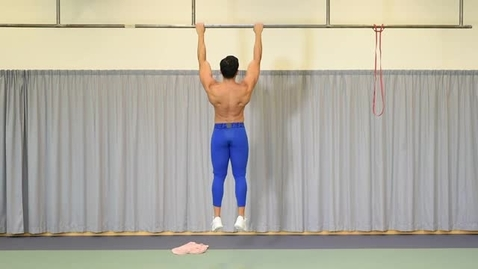 Thumbnail for entry Karolinska Institutet -  Active hang exercise
