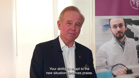 Thumbnail for entry Summer greetings from President Ole Petter Ottersen