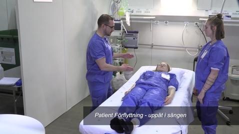 Thumbnail for entry Patient Förflyttning - uppåt i sängen
