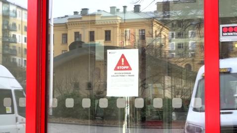 Thumbnail for entry STHLM sjukhem besöksförbud  200313 Arabiska subs