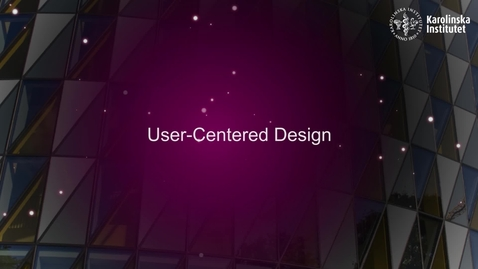 Thumbnail for entry User-Centered Design