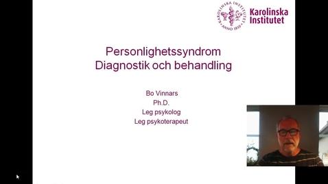 Thumbnail for entry PERSONLIGHETSSYNDROM_BO VINNARS