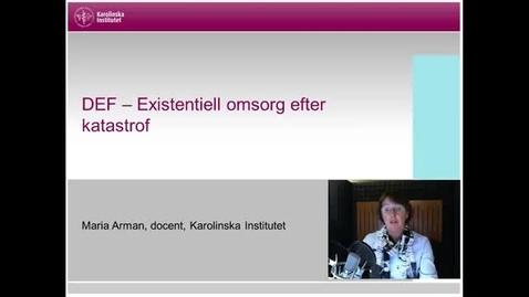 Thumbnail for entry DEF Det existentiella förbandet del  1 (med undertext)