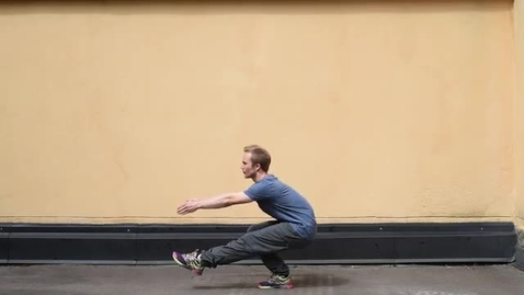 Thumbnail for entry Pistol squats